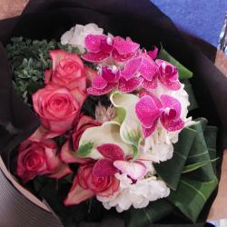 開店祝い 花 コチョウラン花束